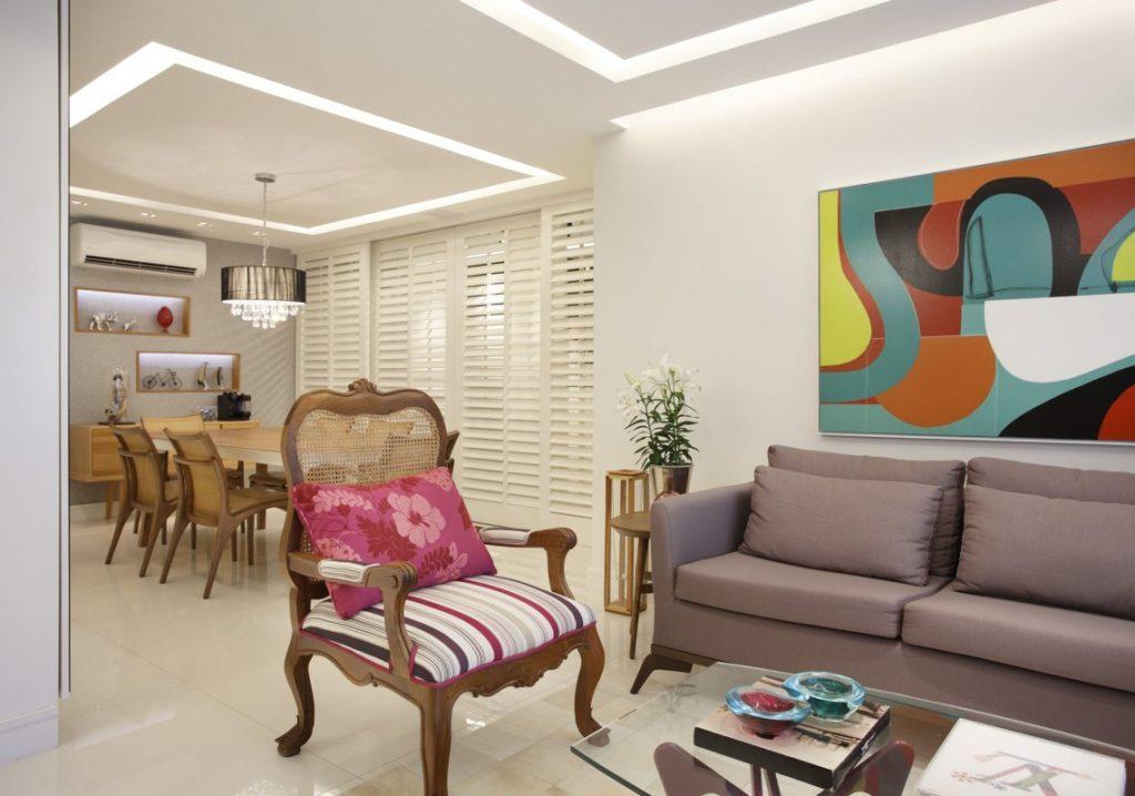 Projeto Residencial para Salas- Apartamento em Botafogo