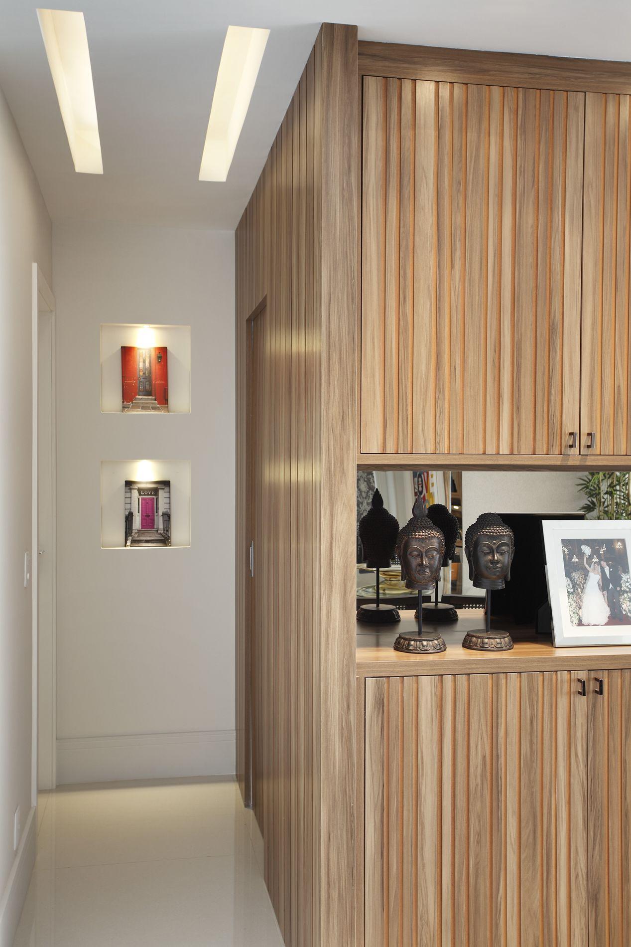 Decoração de Apartamento Projeto Residencial Apartamento Oswaldo  #A63B25 1267 1900