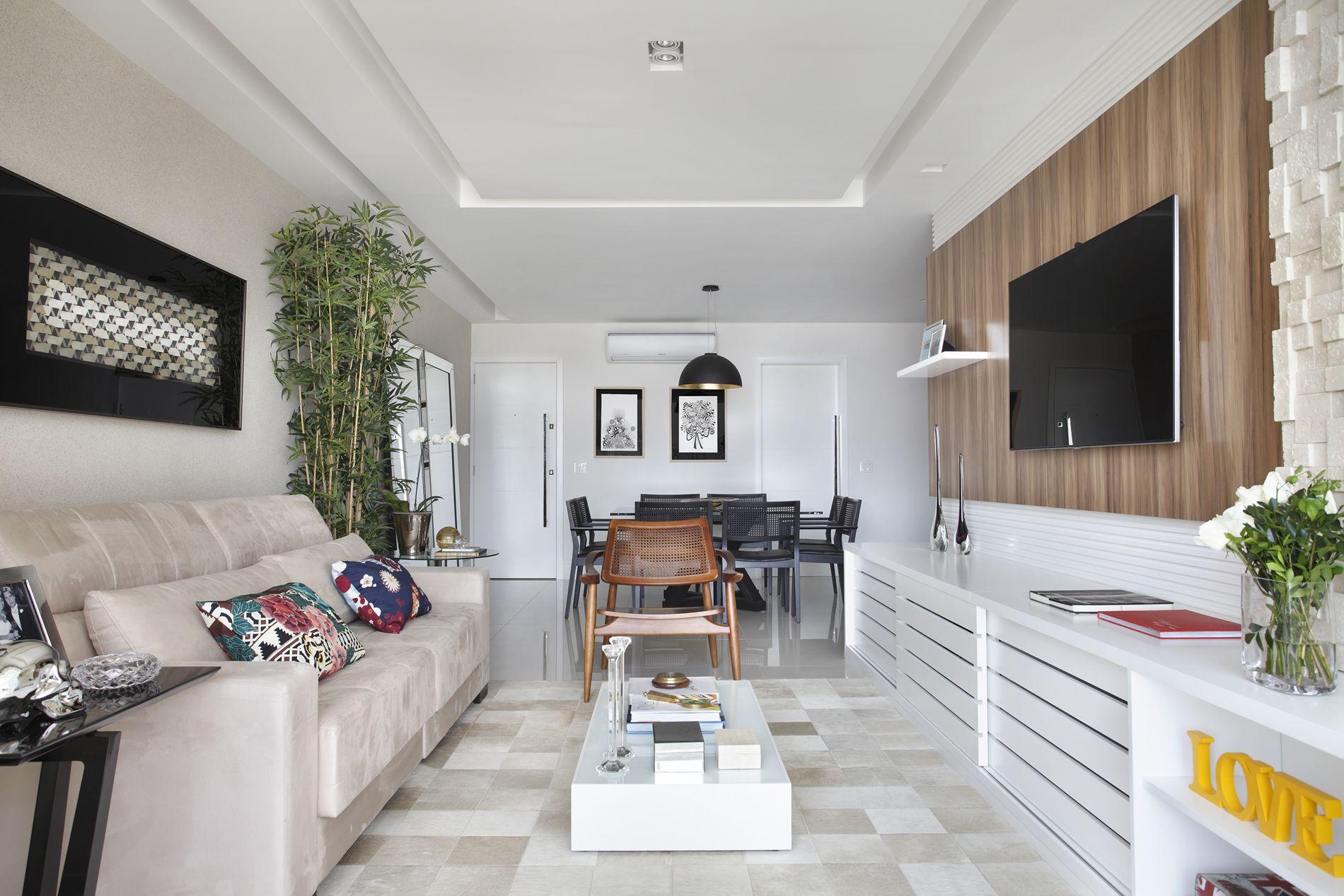 Apartamento oswaldo cruz flamengo bianca da hora for Modelos de salas de casa