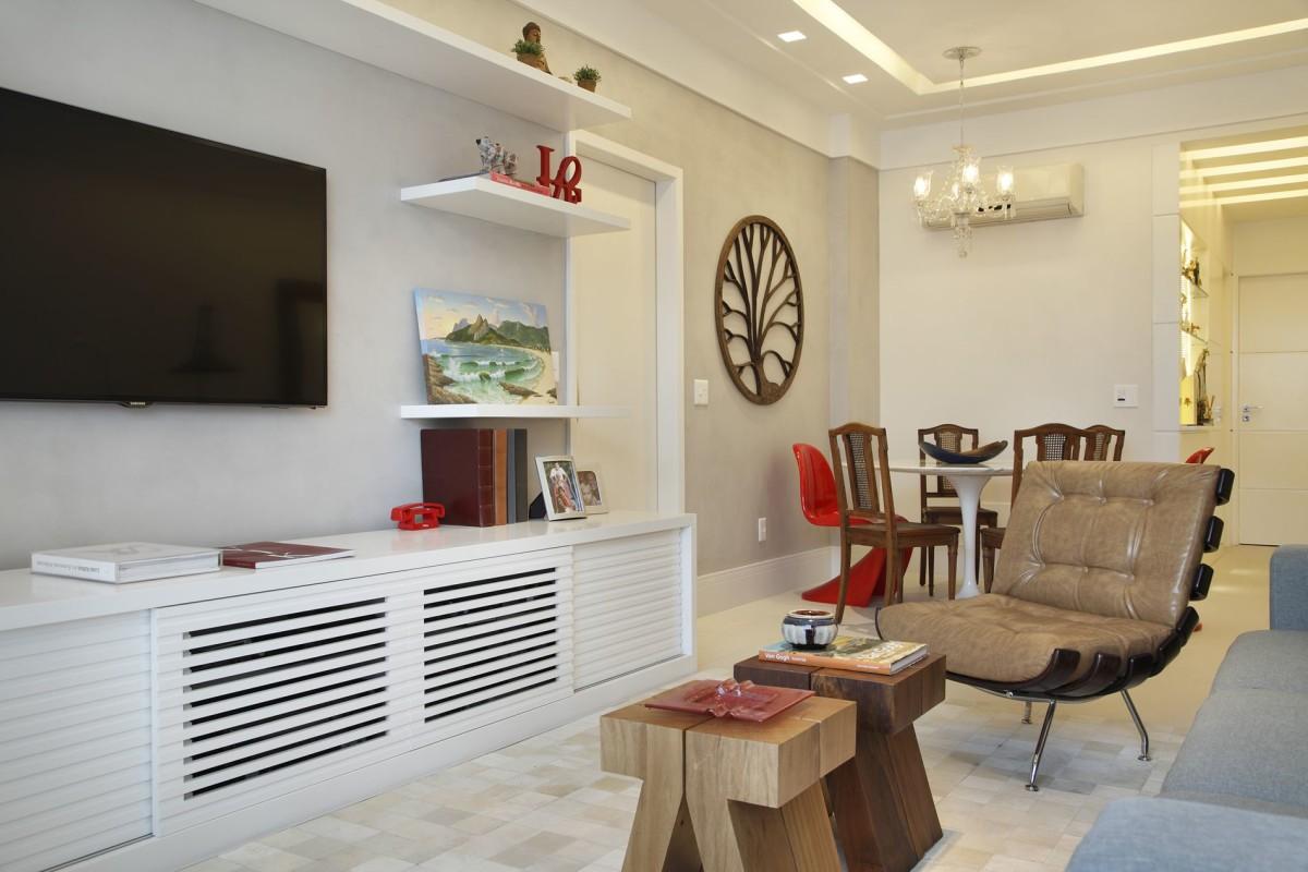 Decoração de Interiores - Projeto para Apartamento no Condomínio Selva de Pedra, Leblon, Rio de Janeiro