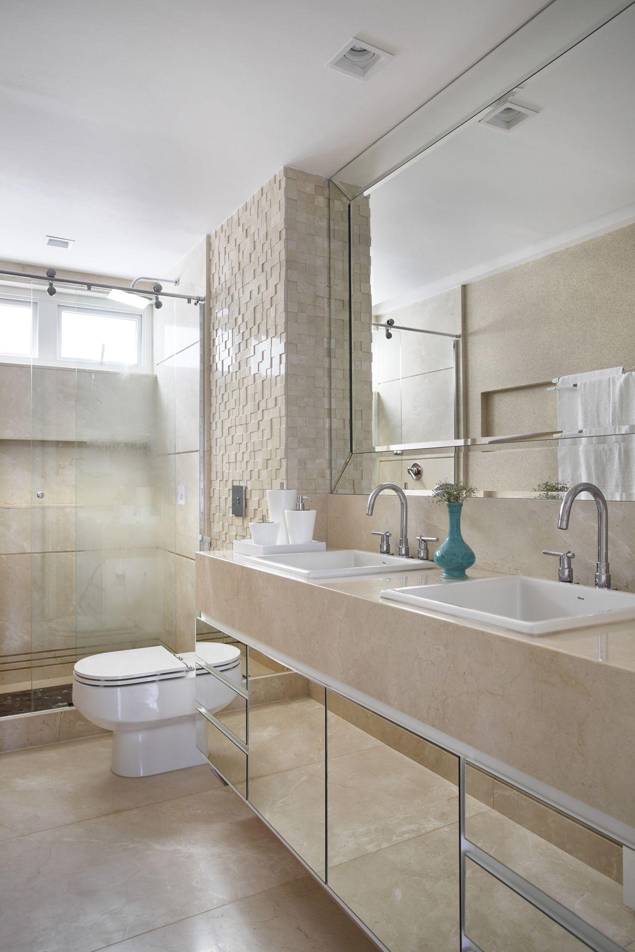 Banheiros  Bianca da Hora  Arquitetura e Interiores # Decoracao De Interiores Banheiros Pequenos