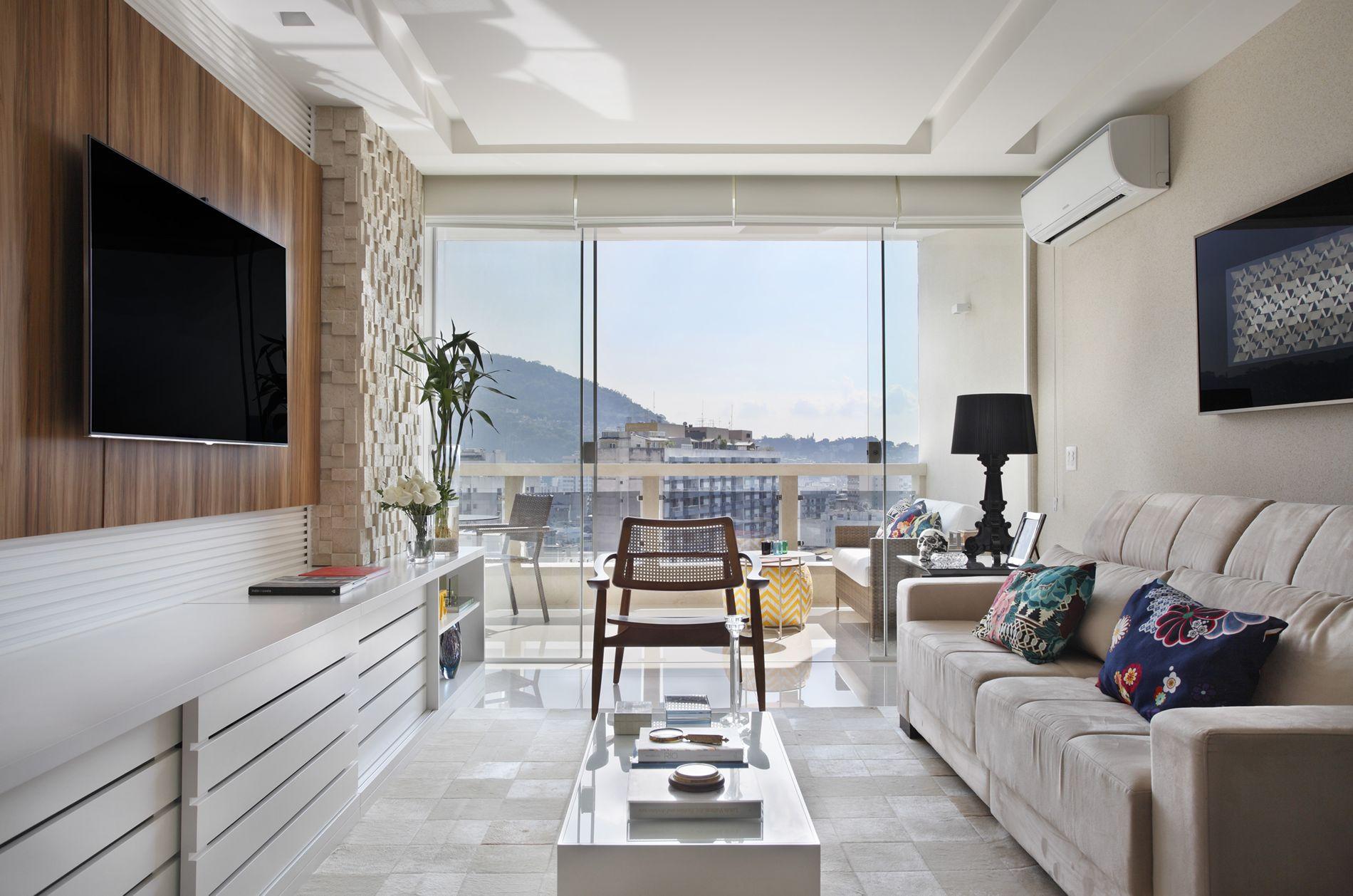 projeto de arquitetura de interiores sala tv apartamento rj.jpg #634939 1900 1258