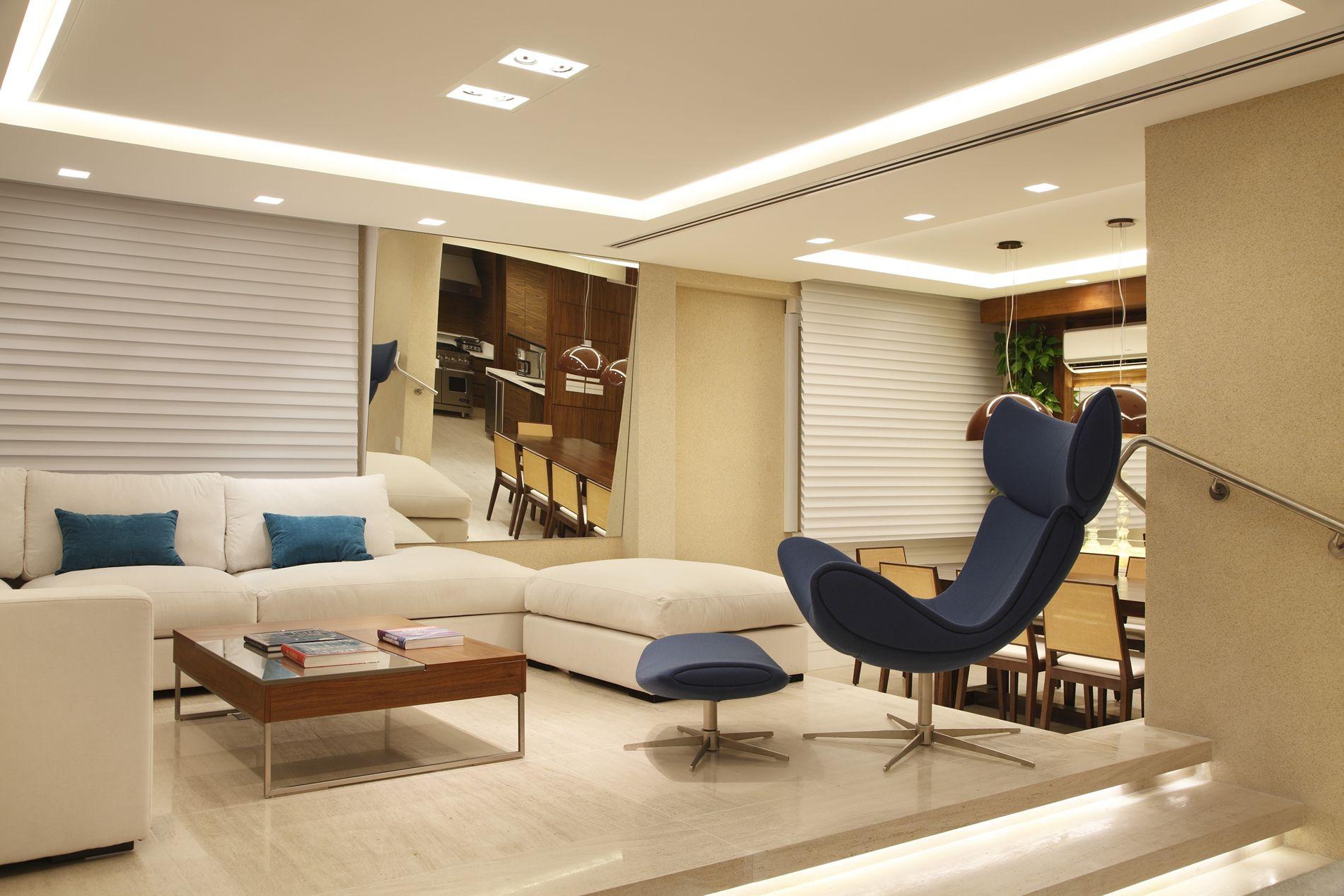 Projeto de Decoração de Interiores Apartamento no Leblon Rio de  #956F36 1900 1267