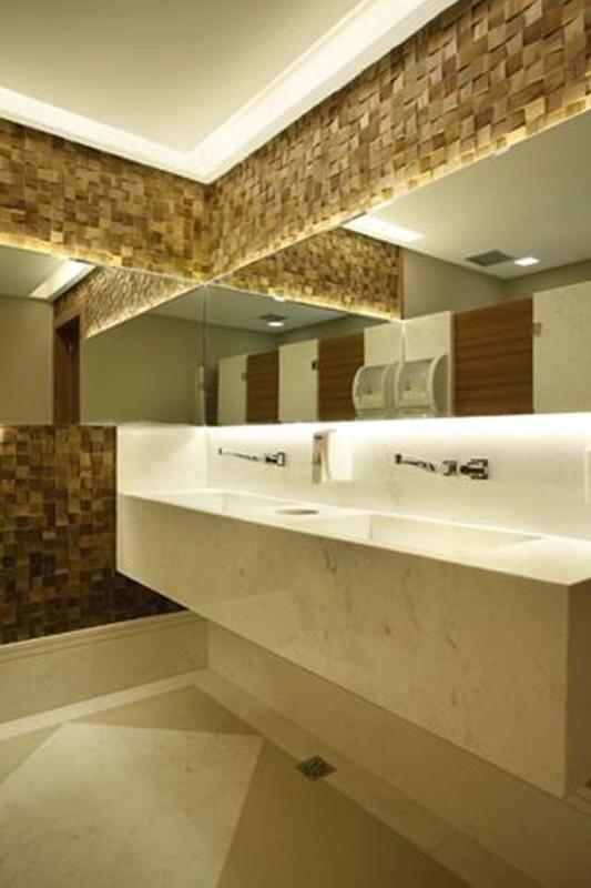 Projeto de Hotelaria - Arquitetura de Banheiros