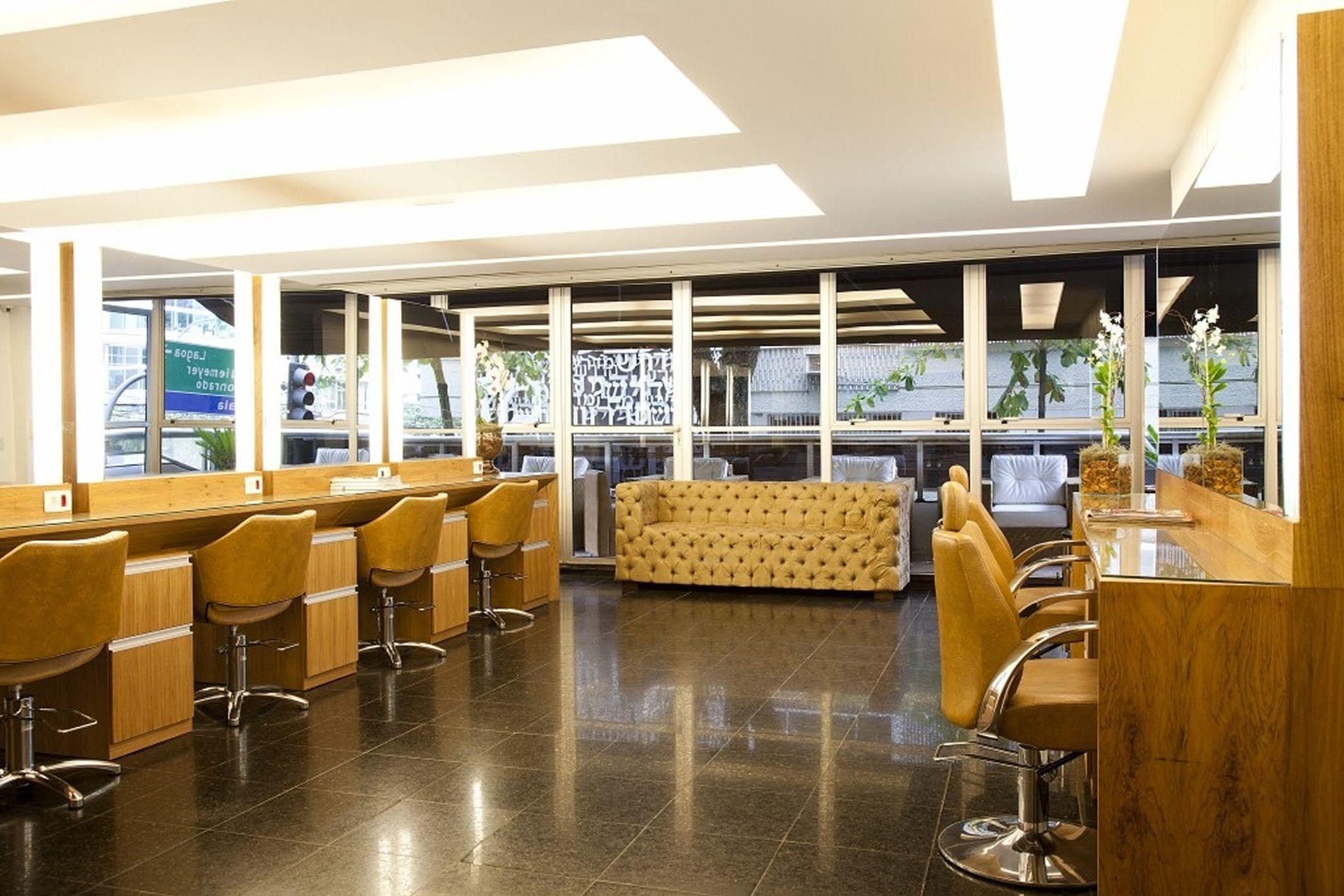 Projeto de Arquitetura de Salão de Beleza Rj #694616 1900 1267