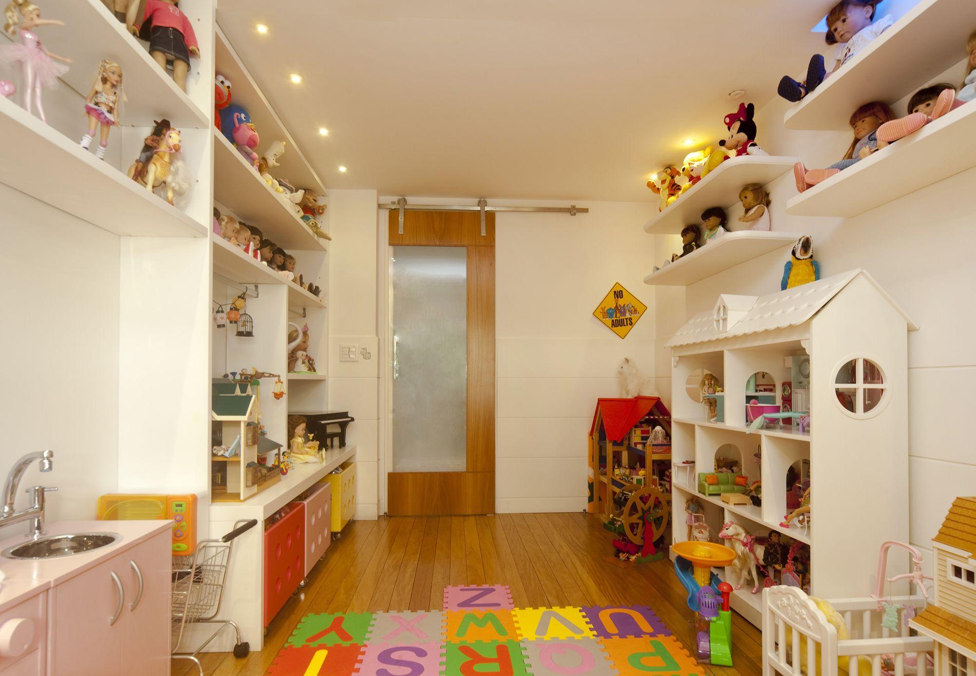 Projeto de Decoração de Quarto de Menina em Apartamento na Lagoa, Rio de Janeiro