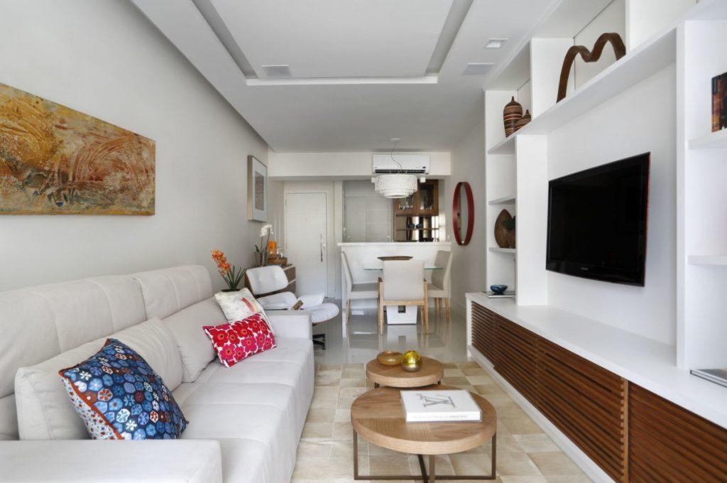 Projeto de Arquitetura e Decoração para Salas em Apartamentos Rj