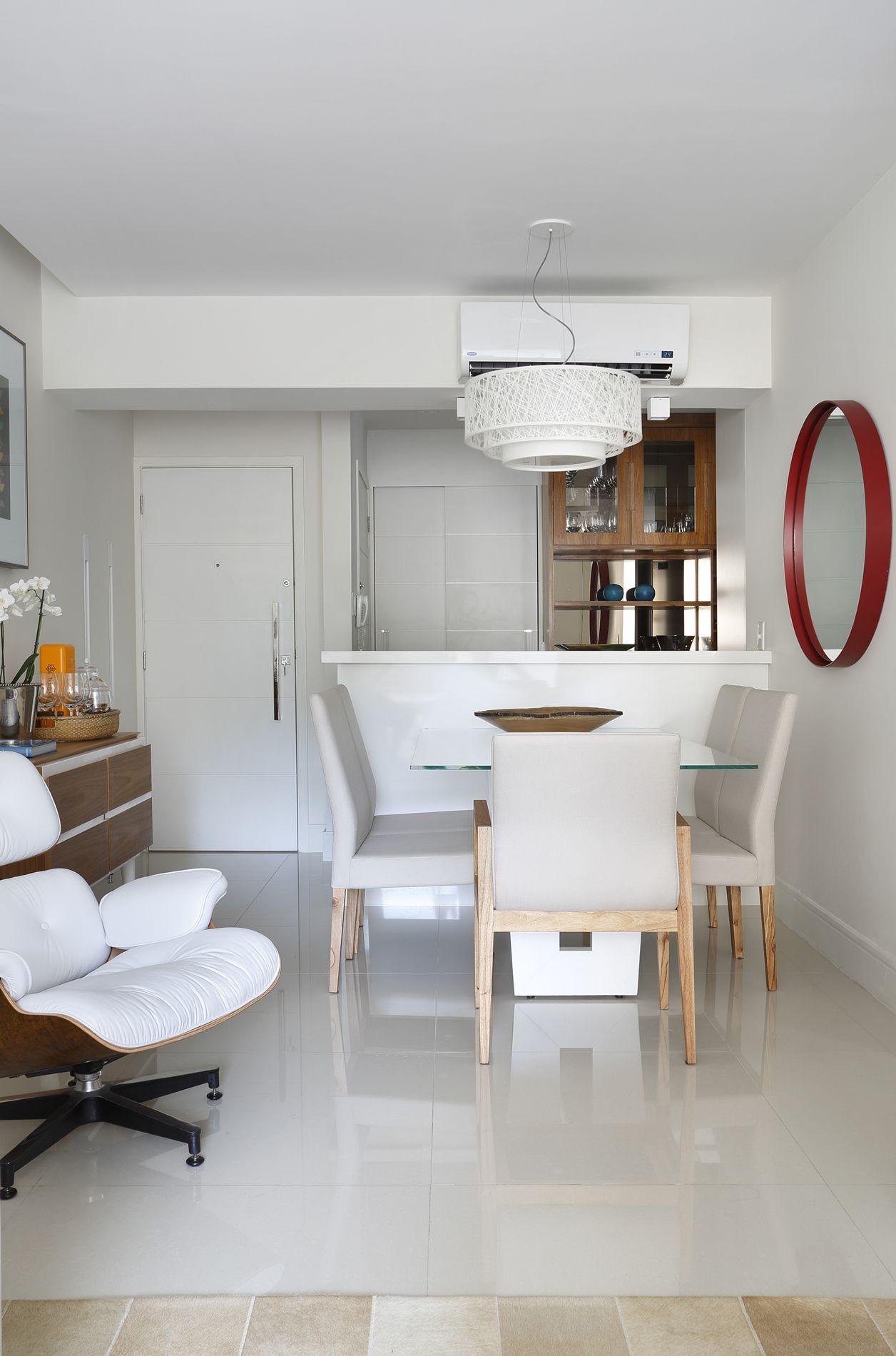 Projeto de Arquitetura e Decoração para Salas em Apartamentos Rj #683C30 1256 1900
