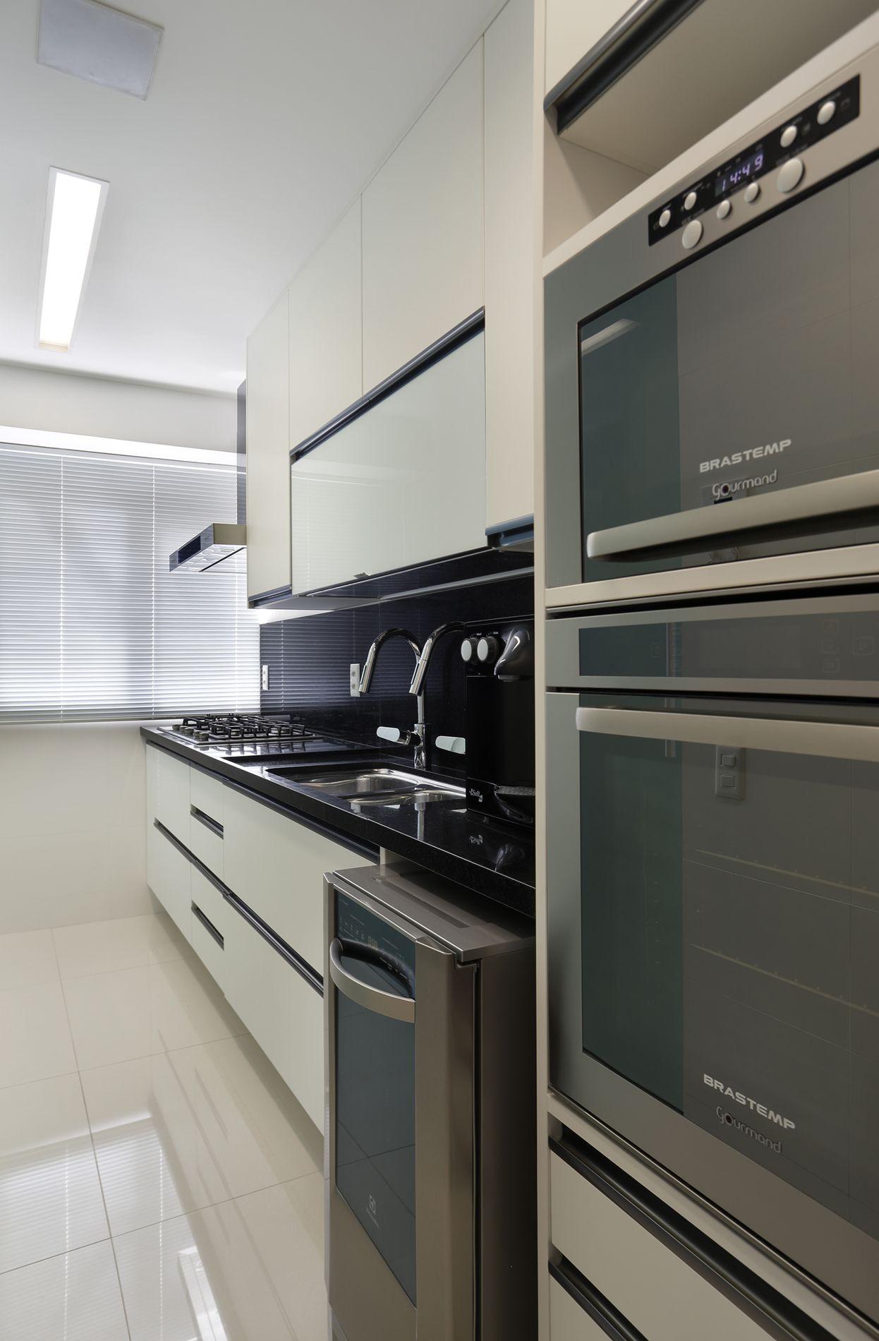 Projeto de Arquitetura e Decoração para Cozinhas em Apartamentos Rj #726959 1246 1900