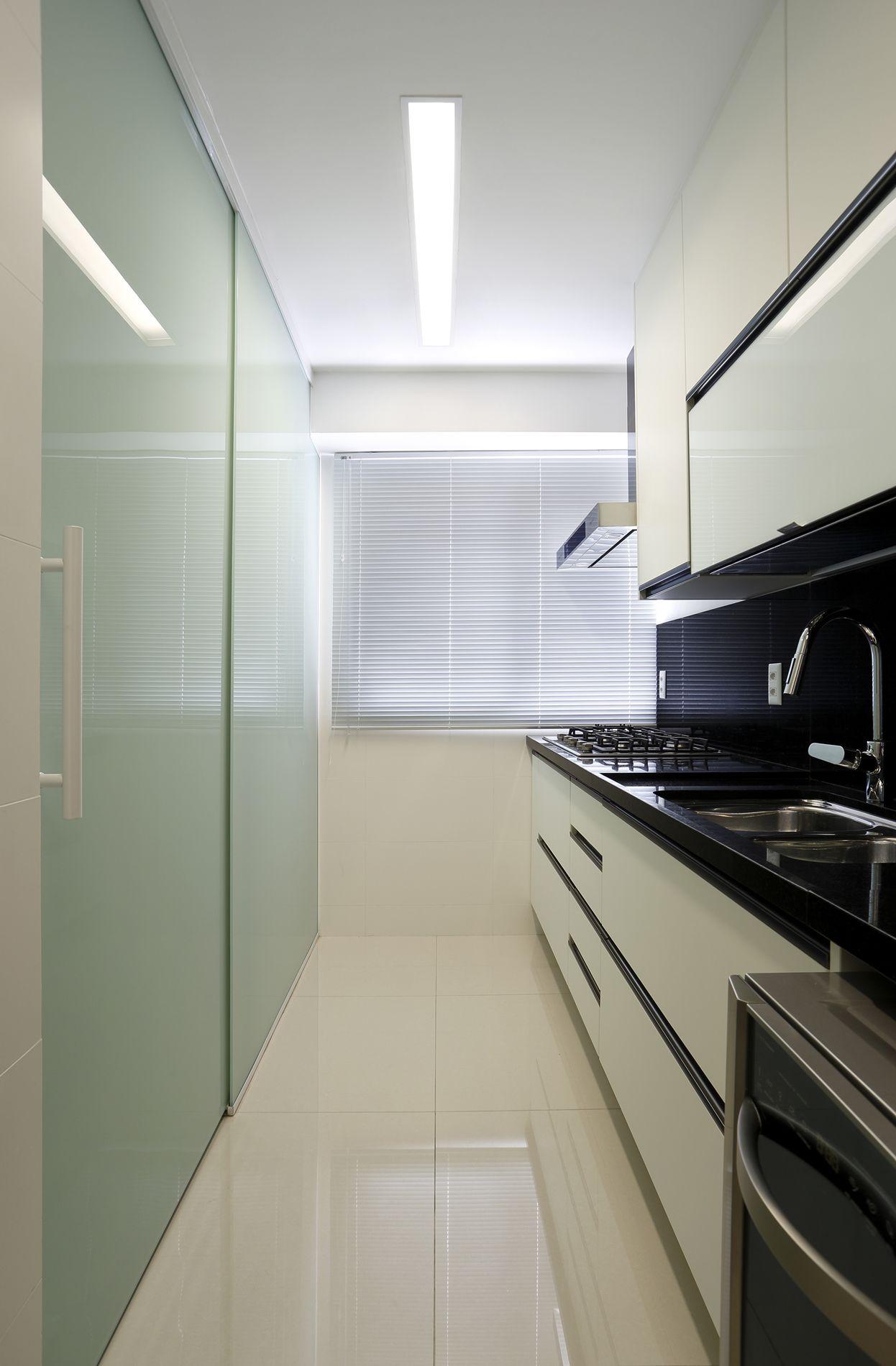 Projeto de Arquitetura e Decoração para Cozinhas em Apartamentos Rj #575141 1246 1900