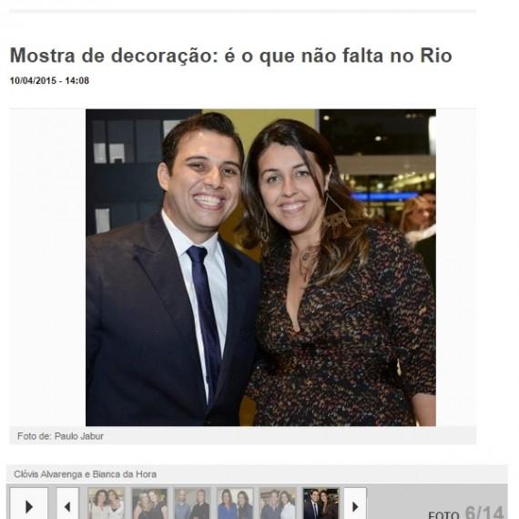 Site Lu Lacerda - 10/04/2015 - Da Hora Arquitetura na Mídia