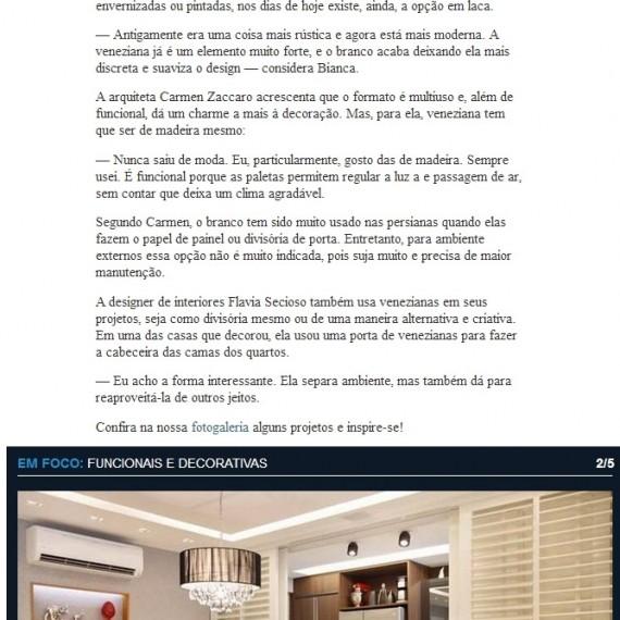 Morar Bem - 16/11/2013 - Da Hora Arquitetura na Mídia