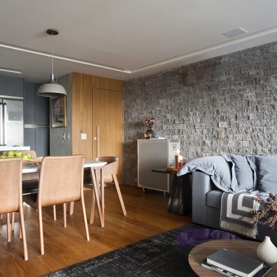 Projeto de Decoração de Interiores em Apartamento no Leblon