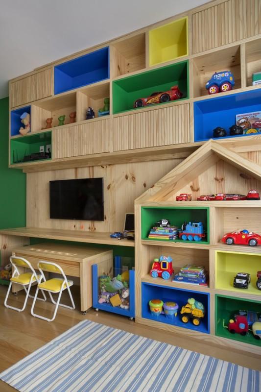 Brinquedoteca em Quartos de Crianças - Bianca da Hora Arquitetura