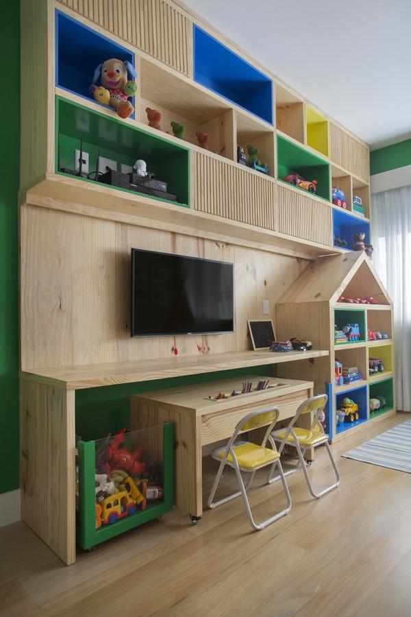 Quartos com Brinquedoteca - Bianca da Hora Arquitetura