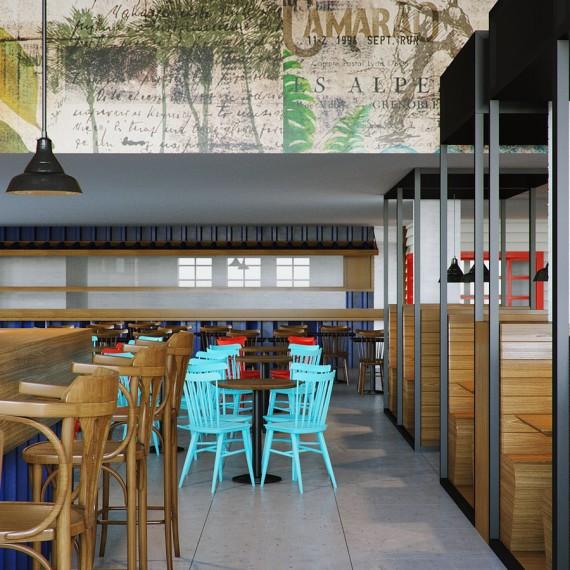 Projeto de Arquitetura para Restaurante