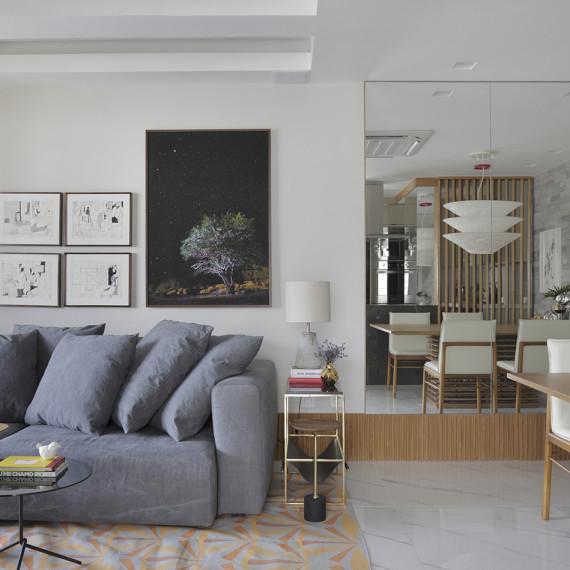 Projeto residencial da arquiteta Bianca da Hora em Ipanema