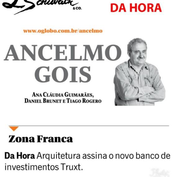 Bianca da Hora no Jornal O GLOBO