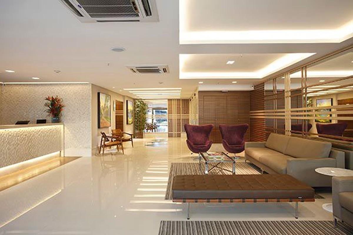 Projeto de Hotelaria - Arquitetura de Recepções Espaçosas