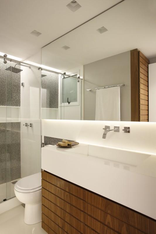 Projeto Residencial para Banheiros Pequenos