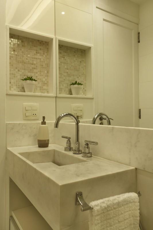 Projeto de Decoração de Apartamento em Banheiros