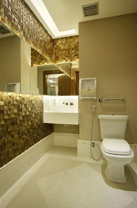 Projeto de Hotelaria - Arquitetura de Banheiro