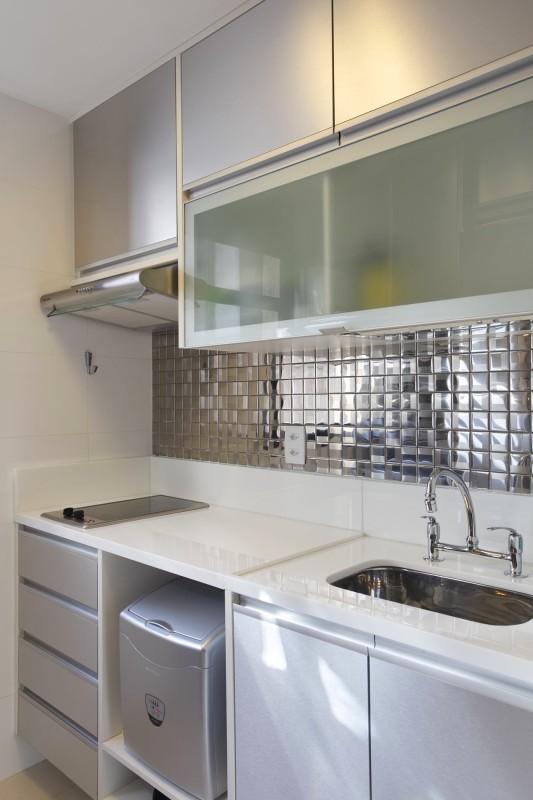 Projeto de Arquitetura de Interiores em Cozinhas - Apartamento em Ipanema