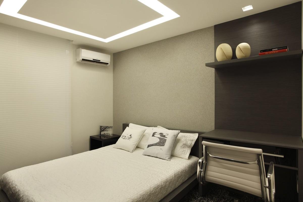 Projeto de Arquitetura de Interiores em Quartos de Casal - Apartamento em Ipanema