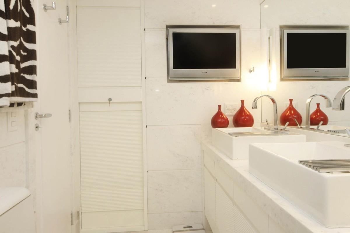 Projeto de Decoração de Banheiro -Apartamento na Lagoa, Rio de Janeiro