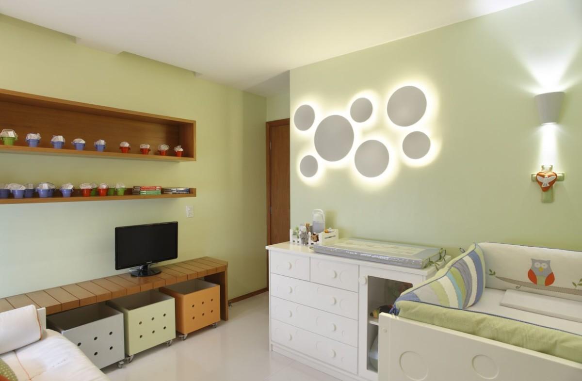 Arquitetura de Interiores para Quarto de Bebê - Projeto Residencial Península, Rio de Janeiro