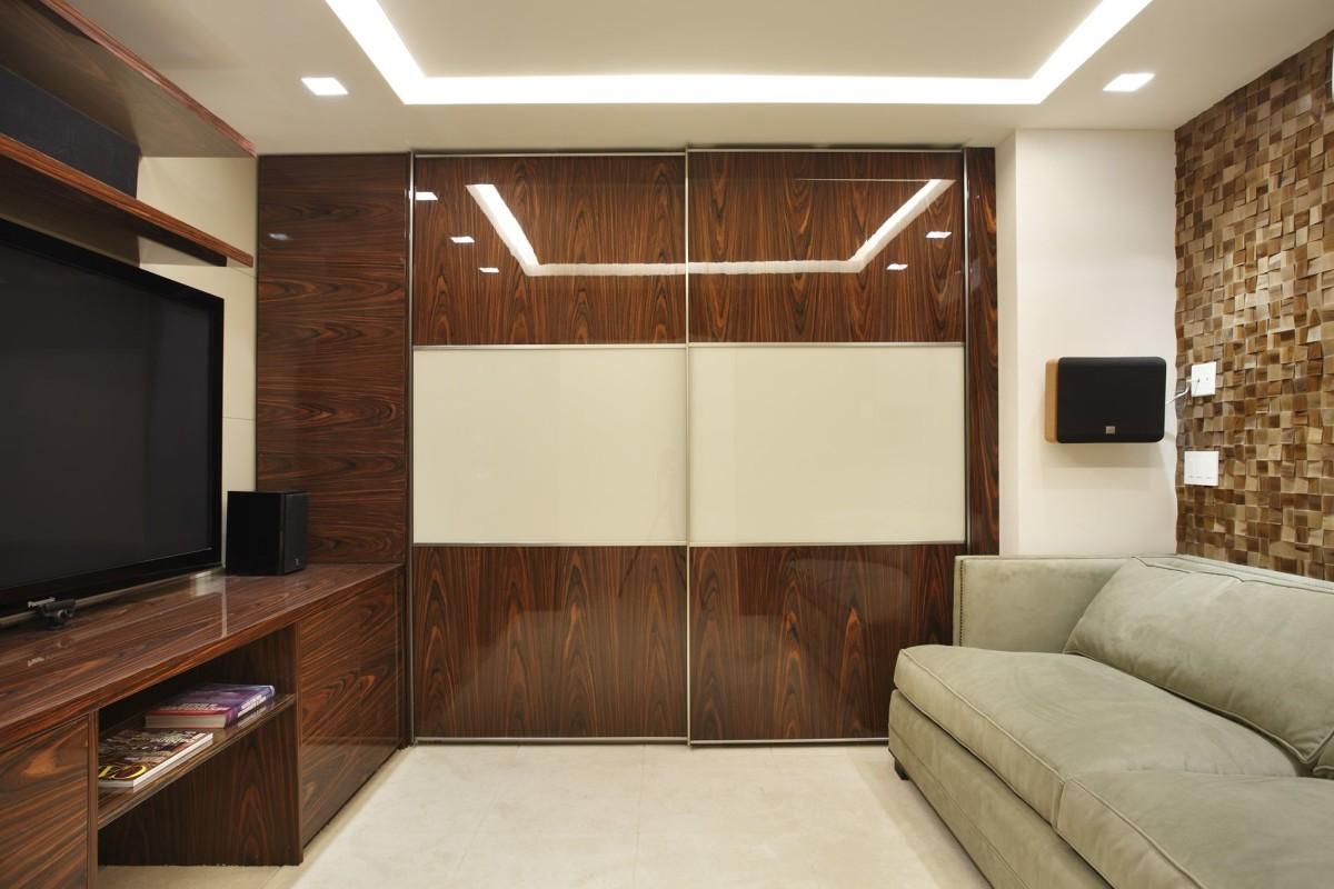Projeto de Decoração de Interiores em Sala Pequena - Apartamento no Leblon, Rio de Janeiro