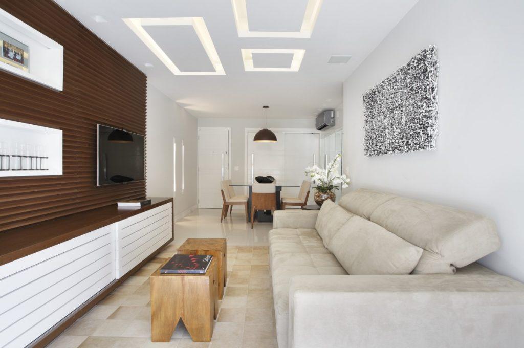 Decoração de Apartamento em Laranjeiras - Projeto de Sala de Estar em Apartamento