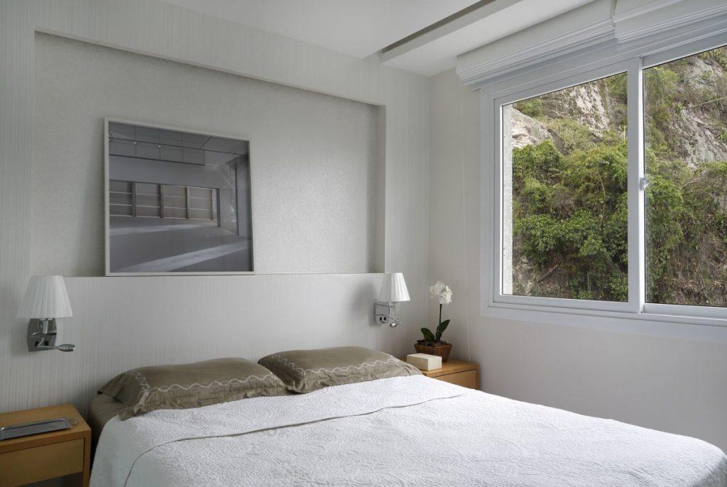 Projeto de Arquitetura e Decoração para Quarto de Casal em Apartamentos Rj