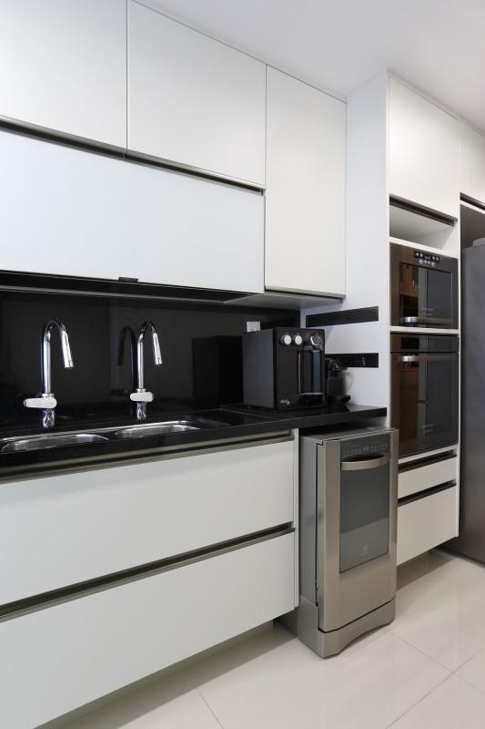 Projeto de Arquitetura e Decoração para Cozinhas Brancas em Apartamentos Rj