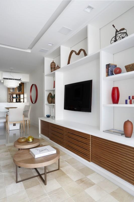Projeto de Arquitetura e Decoração para Sala de Estar em Apartamentos Rj