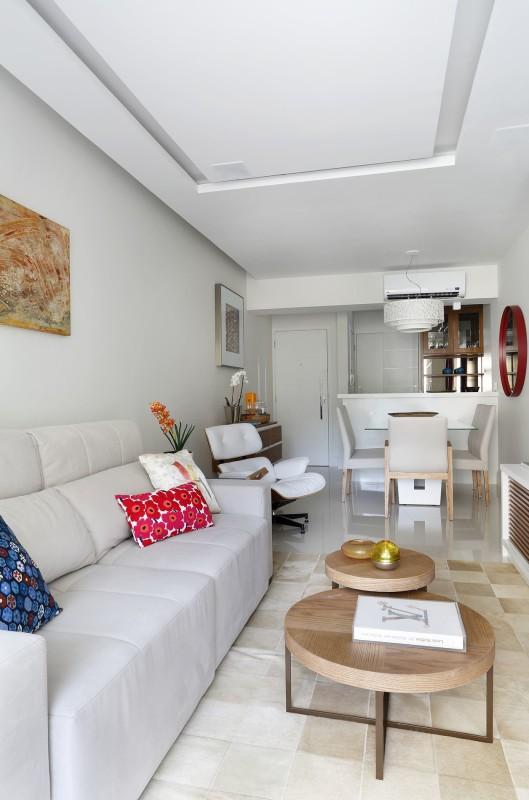 Projeto de Arquitetura e Decoração para Sala de Estar em Apartamentos