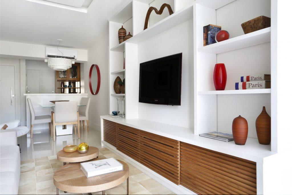 Projeto de Arquitetura e Decoração para Sala de Tv em Apartamentos Rj