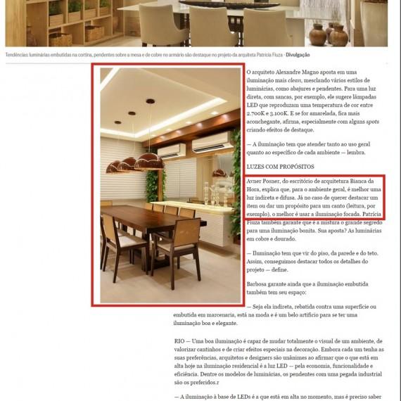 Morar Bem - 05/01/2015 - Da Hora Arquitetura na Mídia