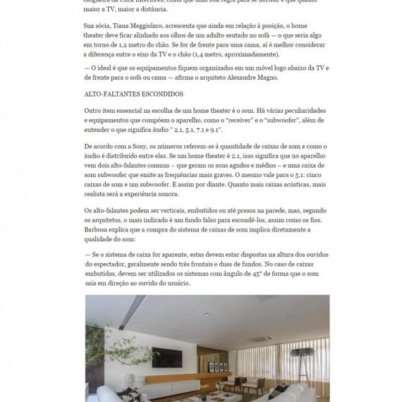 Morar Bem - 26/12/2014 - Da Hora Arquitetura na Mídia