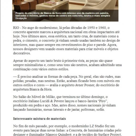 Morar Bem - 20/04/2014 - Da Hora Arquitetura na Mídia