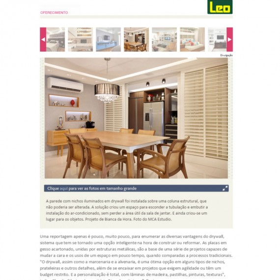 Portal Casa - 20/07/2015 - Da Hora Arquitetura na Mídia