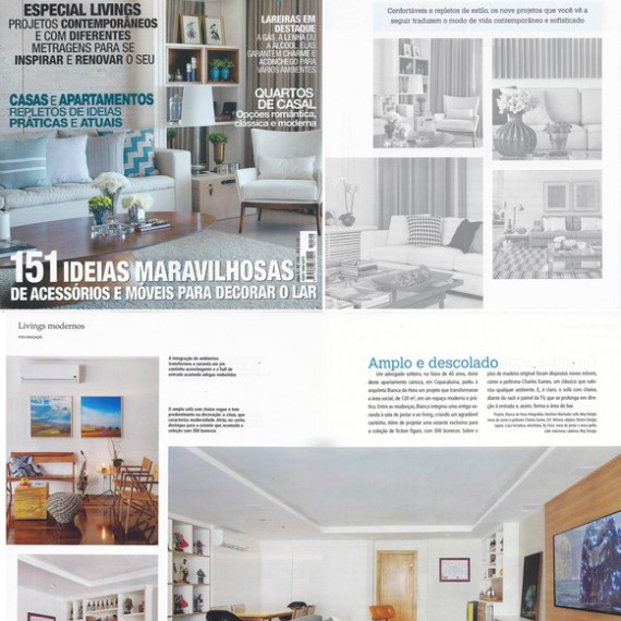 Revista Casa e Decoração - Bianca da Hora Arquitetura