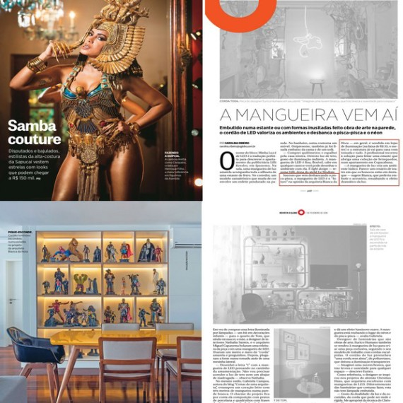 Revista O Globo - Bianca da Hora Arquitetura